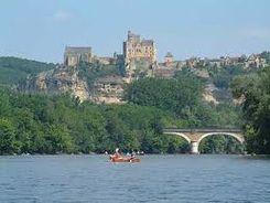 Canoé sur la Dordogne